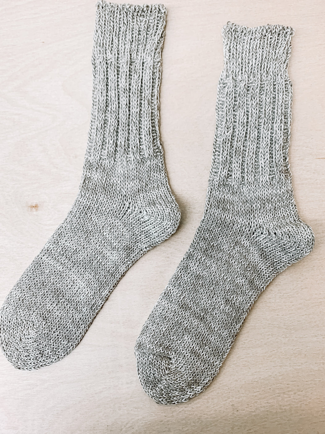 Lore General- Linen Cotton Blend Socks