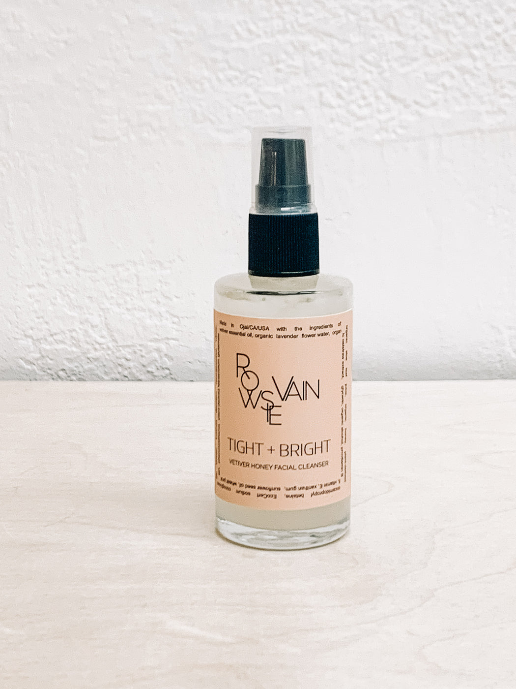 Rowsie Vain- Tight and Bright Face Cleanser