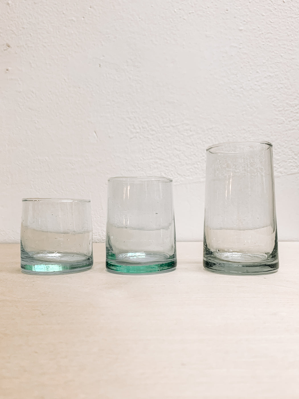 Moroccan Tumblers- 100%Hand Blown Recycled Glass