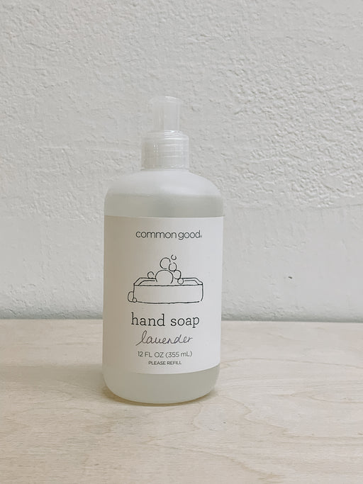 Common Good- Lavender Hand Soap
