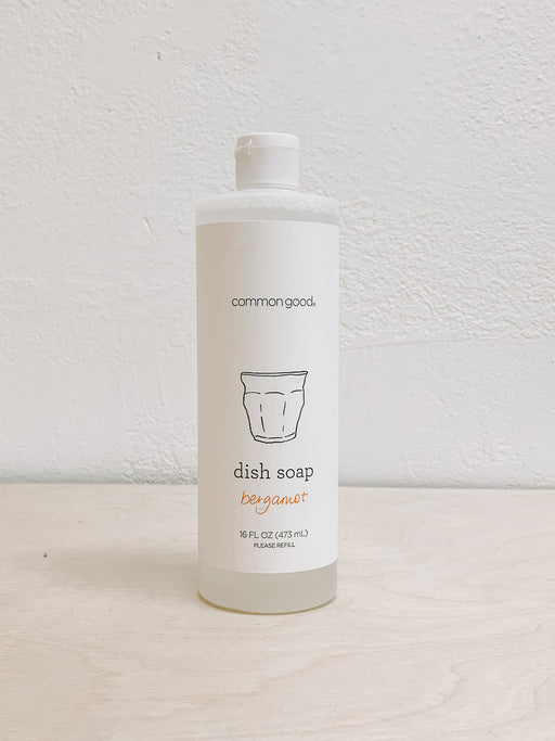 Common Good- Bergamot Dish Soap
