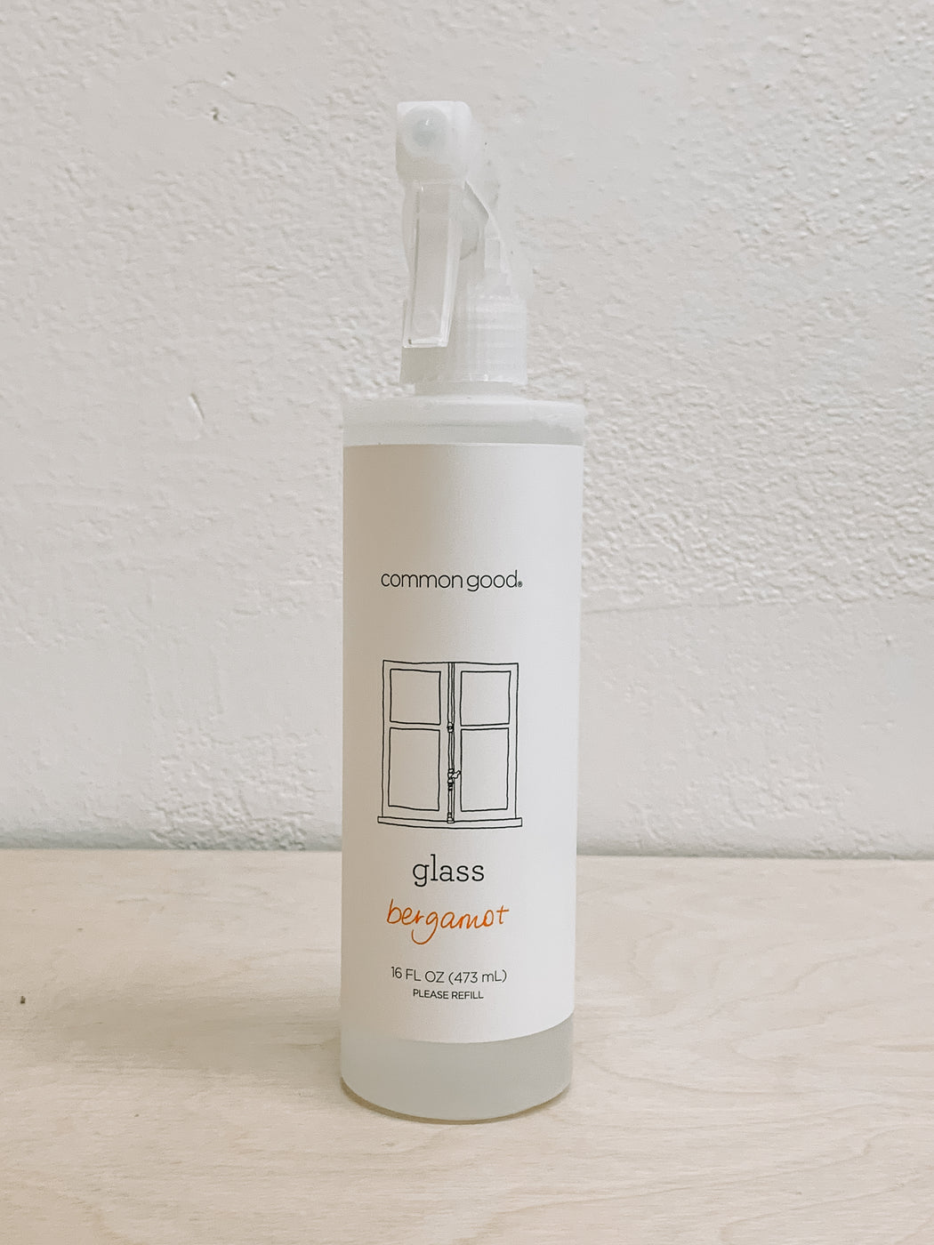 Common Good- Bergamot Glass Cleaner