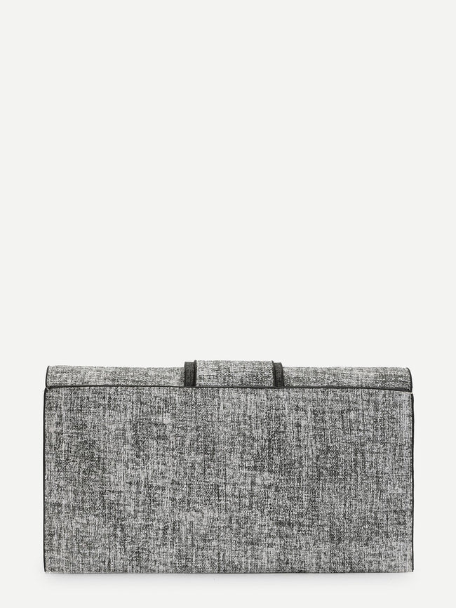 15% OFF  Chic Clutch It Bag (Gray)