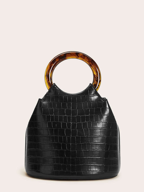 Cross Trending Crocodile Bucket Bag