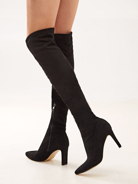 Chic Comfort Thigh High Boots