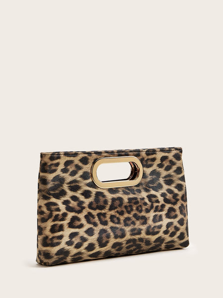 Clutched To A Chic Leopard Bag