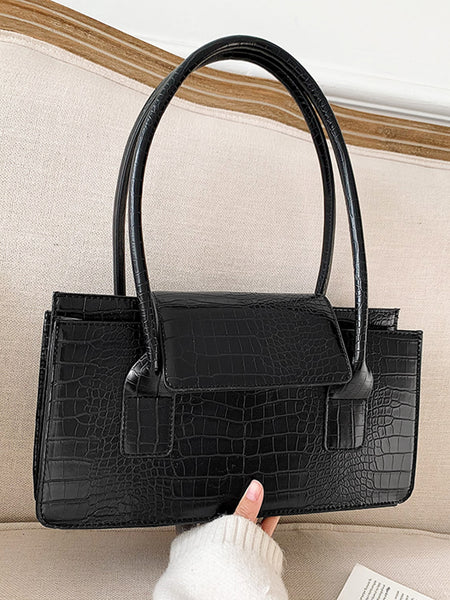 Boxed In Crocodile Handbag