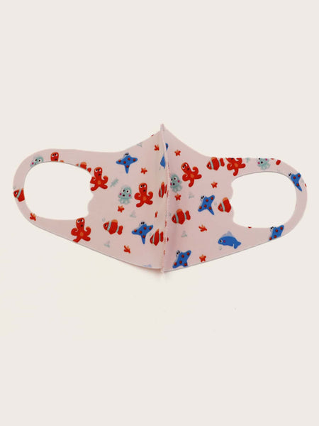 Joyful Fish Tank Kids Face Mask