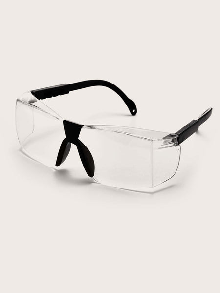 Safety Glasses With A Bold Twist