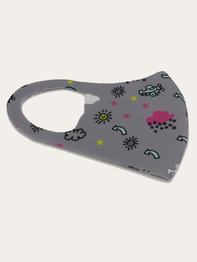 Kids All Fair Weather Fun Face Mask (In Stock, Ready To Ship)