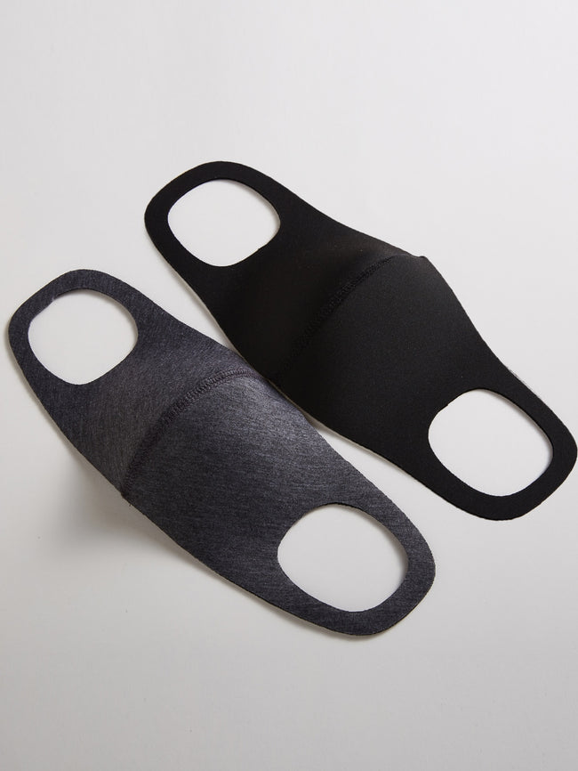 Basic Black Solid Secure Face Mask (In Stock, Ready To Ship)