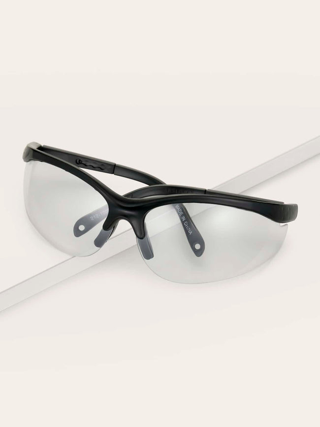 Working The Chic Framed Safety Glasses (In Stock, Ready To Ship)