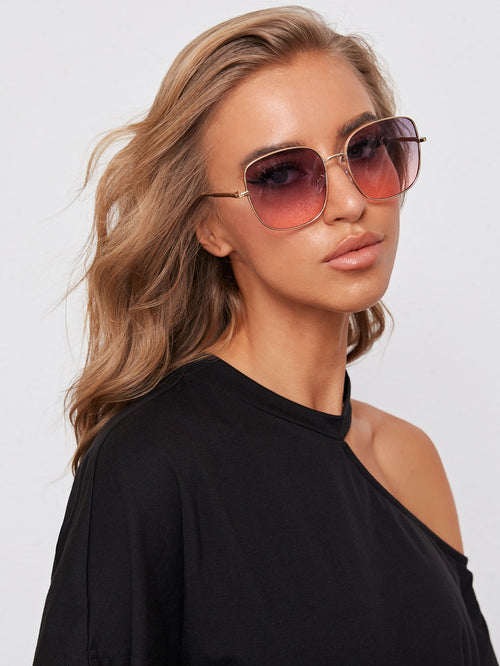 No Shade Square Biz Sunglasses (Back In Stock 7/11/20)