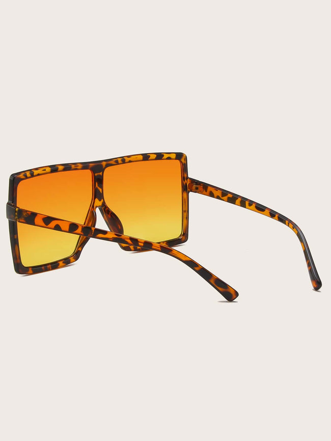 The Square Biz Tortoise Sunglasses
