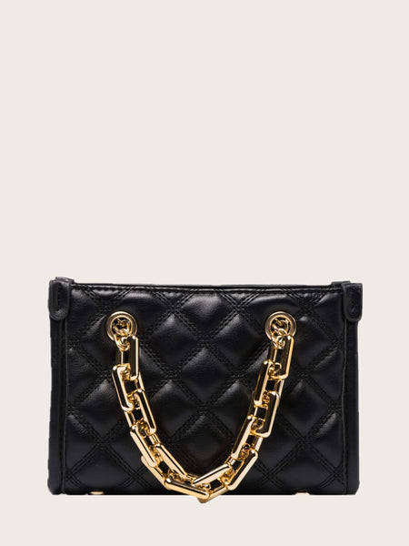 Let's Link-Up Satchel Bag (Black)