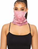 Pink Crush Tie Dye Tubular Face Mask (In Stock, Ready To Ship)