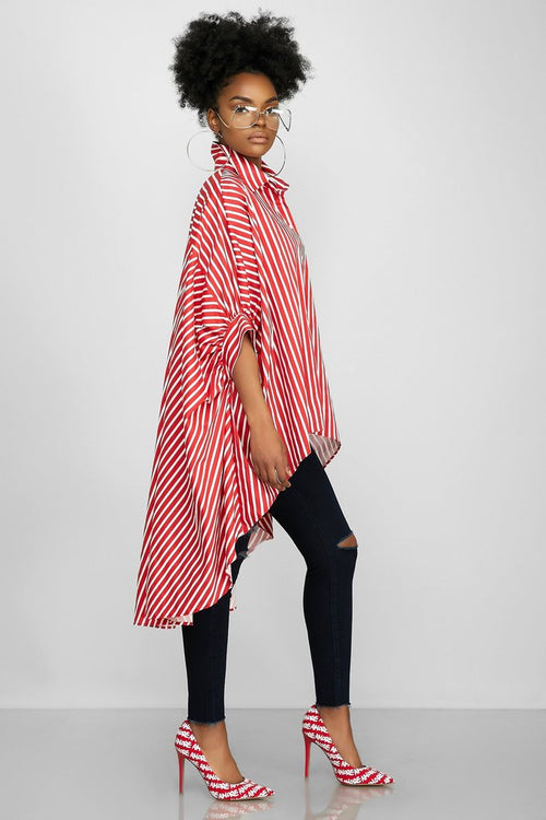 Flowly & Flarely Pretty in Stripes Top  (PRE-ORDER)