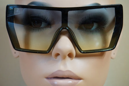 Stylish Flat Top Safety Glasses