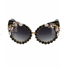 Gemstones Of Milani Sunglasses (Black)