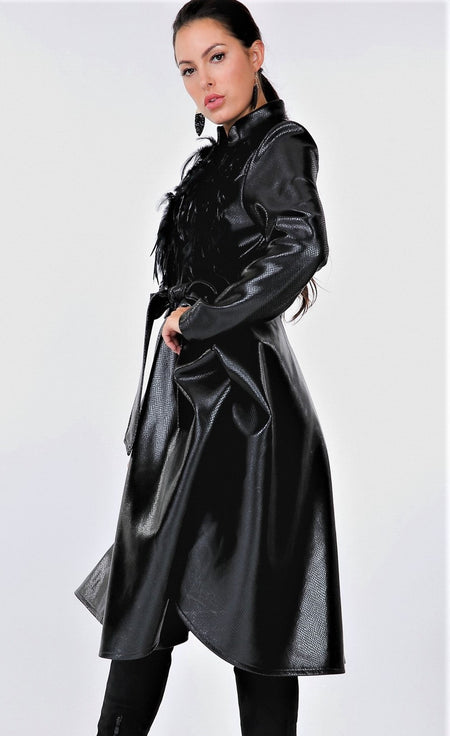 Loved and Laced Elegant Coat