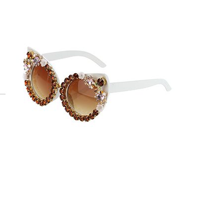 Gemstones Of Milani Sunglasses (Brown)