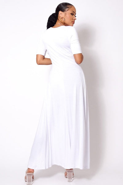 Trendy Maxi Top (Off White)