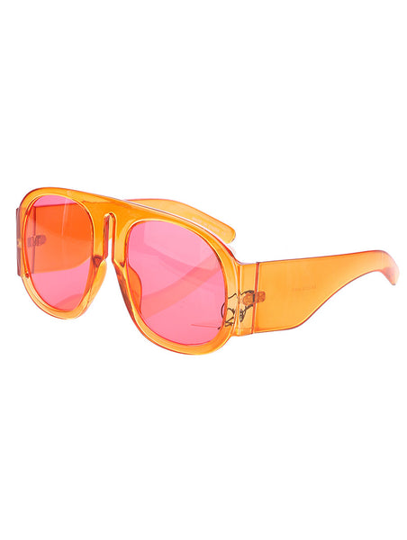 Irregular Shade Sunglasses (Sunkist)