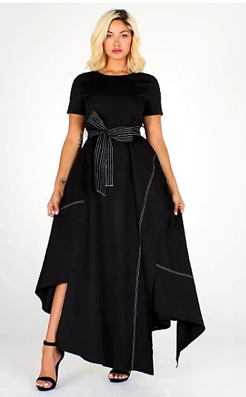 Modestly Retro & Chic Maxi Dress