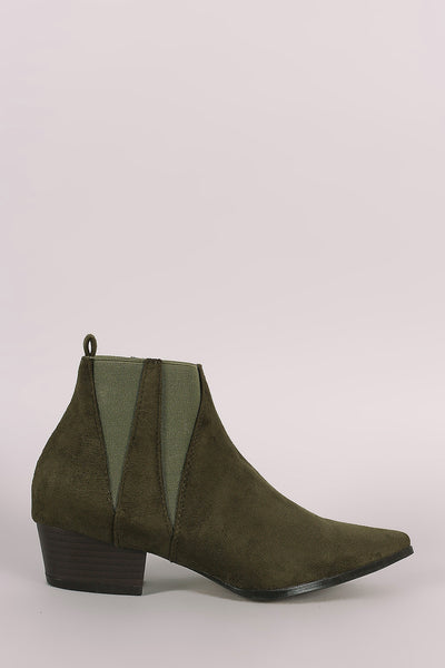 Western Suede Boots