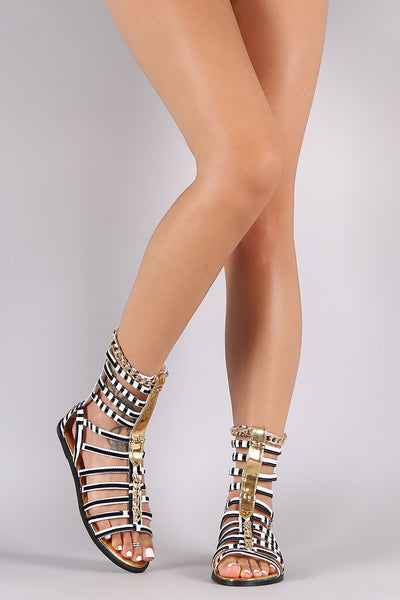 Strappy Chained Sandal