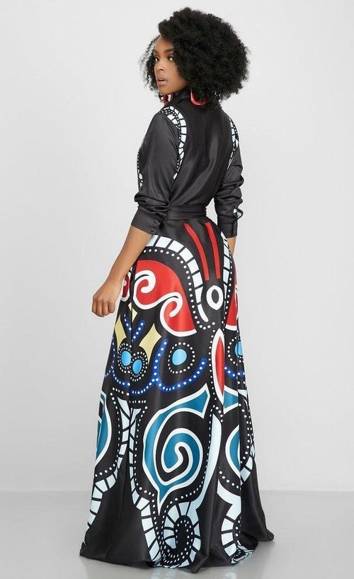 The Artistic Beauty Maxi Dress