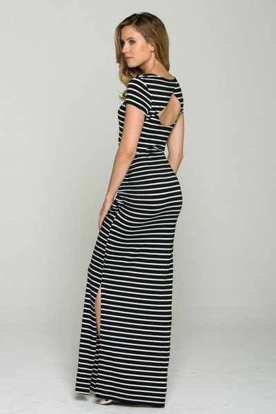 Basically Cute Maxi Sport Dress (Black)