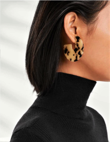 Looped In Leopards Earrings