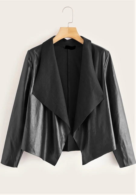 Magnetized In Metallic Elegant Coat