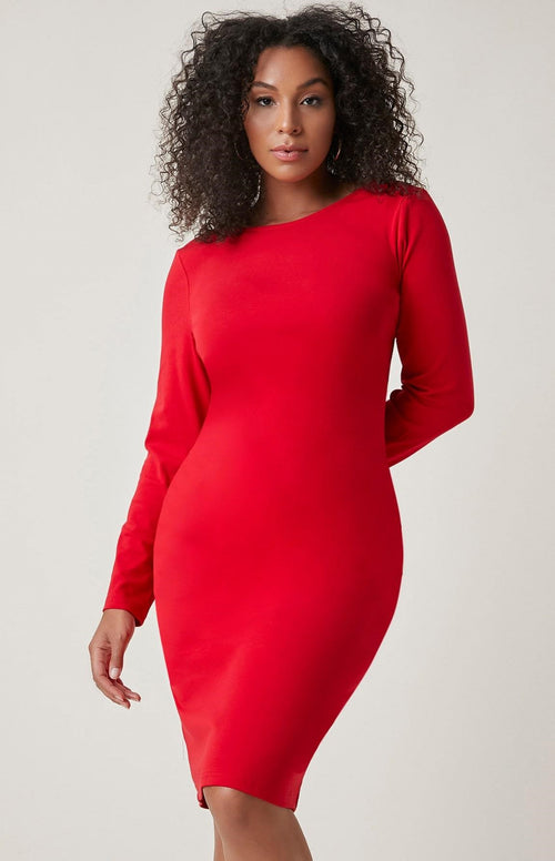Red Hot & Ready Simple Dress