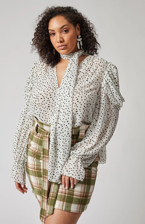 Let The Fancy Flow Blouse
