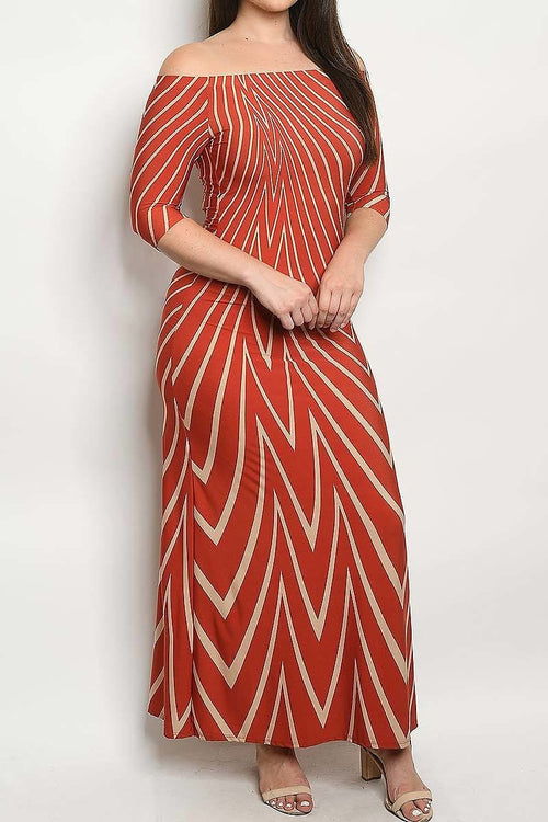 Geo For Gorgeous Maxi Dress