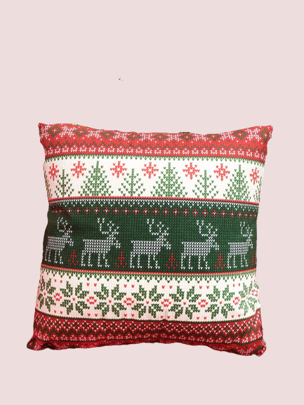 Deers & Cheers Holiday Pillowcase
