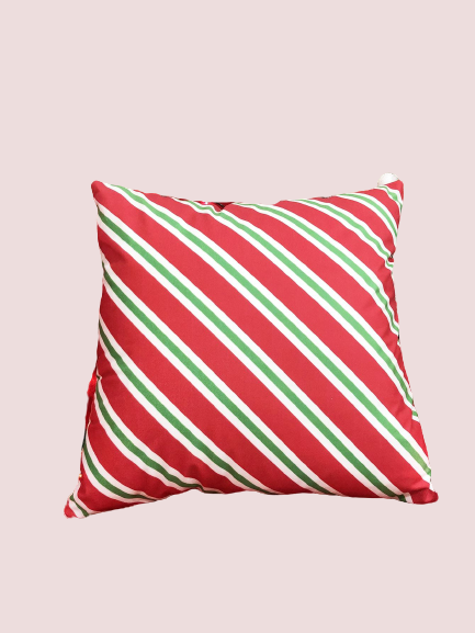 Peppermint Candy Cane Holiday Pillowcase