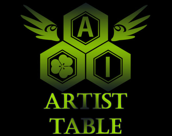 Artist Alley Table | Anime Iwai Soar