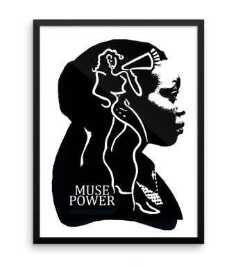 'MUSE POWER 4' LIMITED EDITION SERIGRAPH