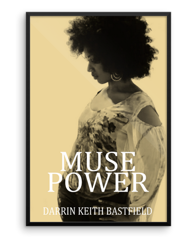 "MUSE POWER 24"" X 36"" FRAMED POSTER"