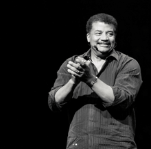 Neil deGrasse Tyson wearing a Jupiter & Galilean Moons Bracelet