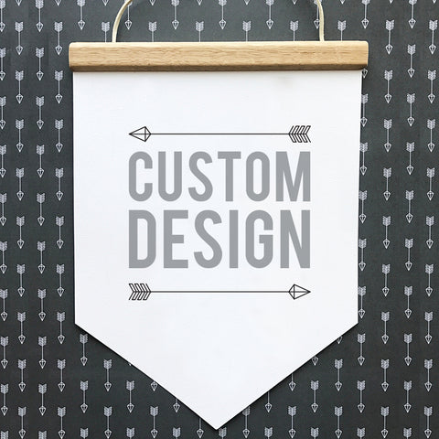 Custom Design Wall Banner - SO! Collective