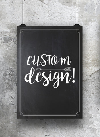 Custom Design Milestone Print - SO! Collective