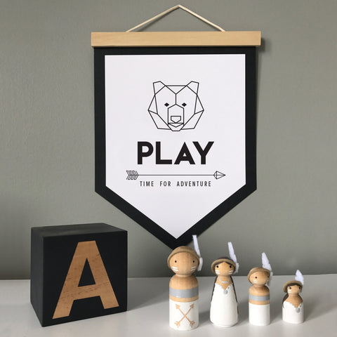 Play Bear Banner - SO! Collective