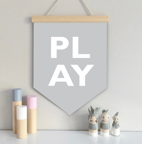 PLAY Wall Banner - SO! Collective