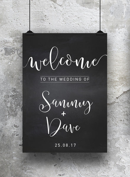 Wedding Welcome Print - SO! Collective