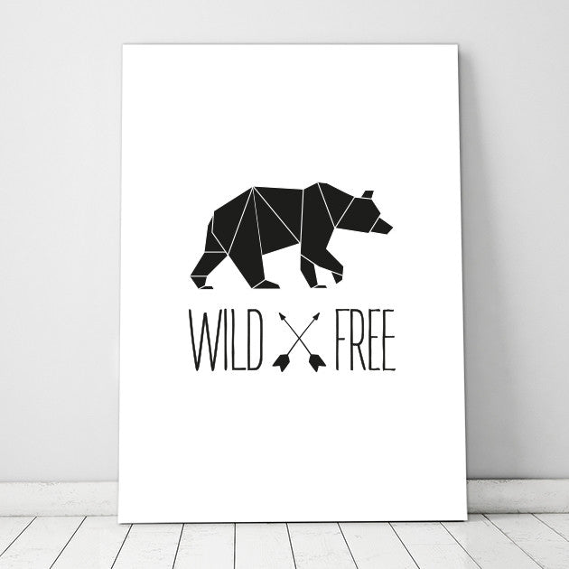 Geometric Wild & Free Print - SO! Collective