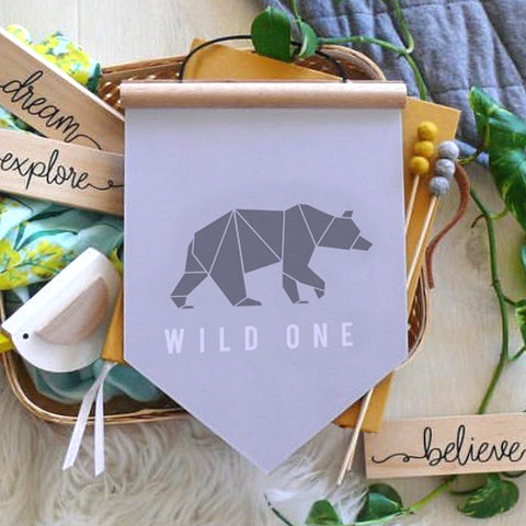 Wild One Wall Banner - SO! Collective